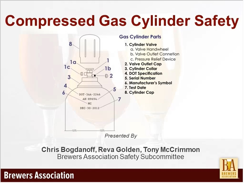 Compressed Gas Cylinders Management Brewers Association