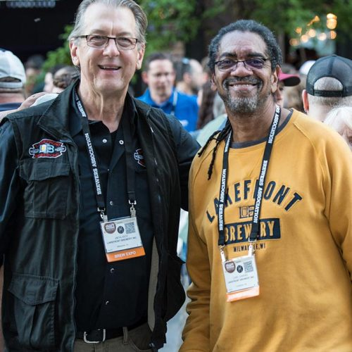 Attendees at the 2018 Craft Brewers Conference welcome reception