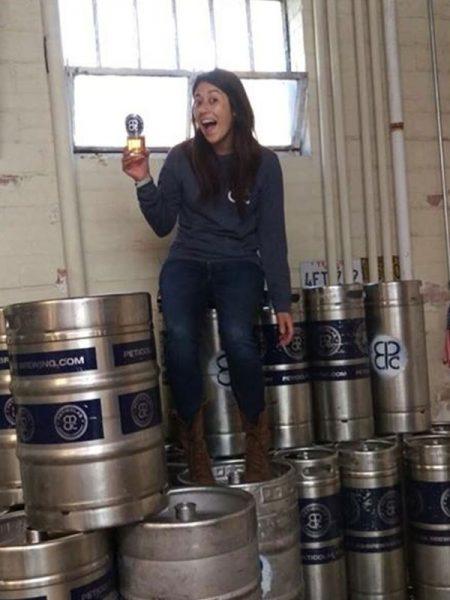 Georgina Solis peticolas brewing Company