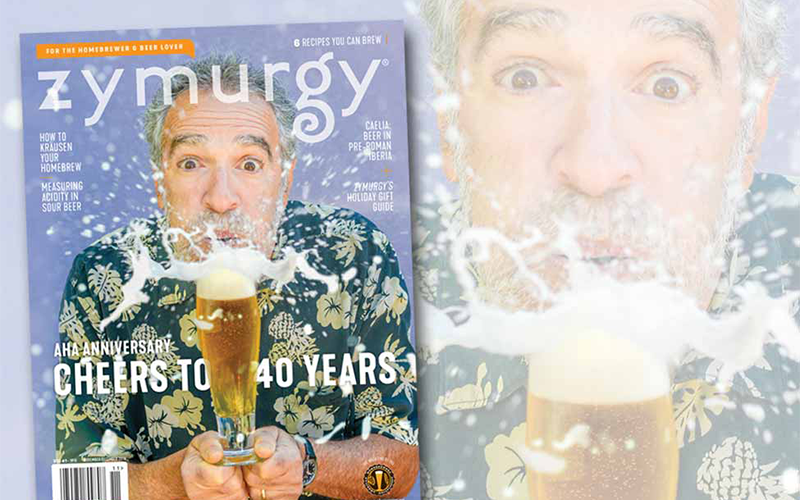 Zymurgy Magazine Celebrates 40th Anniversary with Fresh New Look