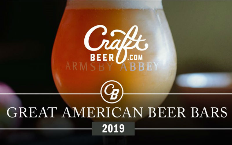 Craftbeer .com Unveils Great American Beer Bars For 2019
