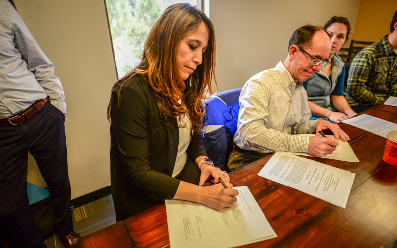 OSHA Signing