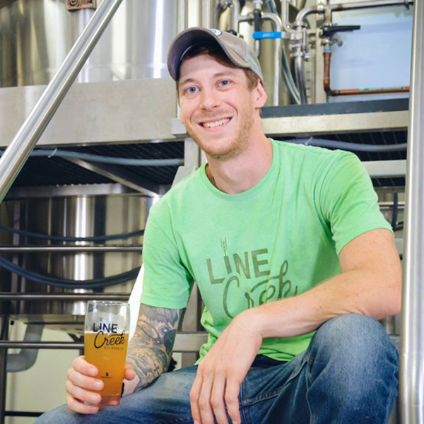 Alex Noll Line Creek Brewing
