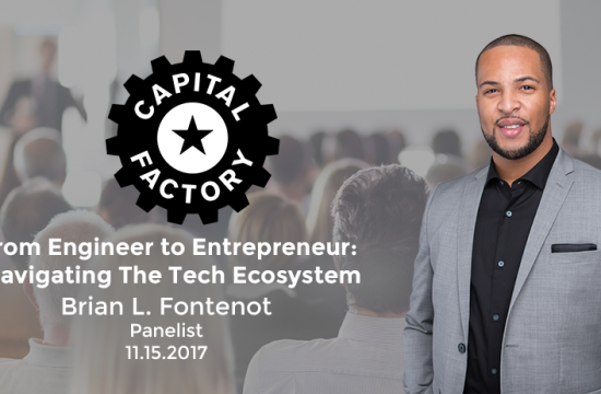 Speaking at the Capital Factory Black & Latinx Tech Summit
