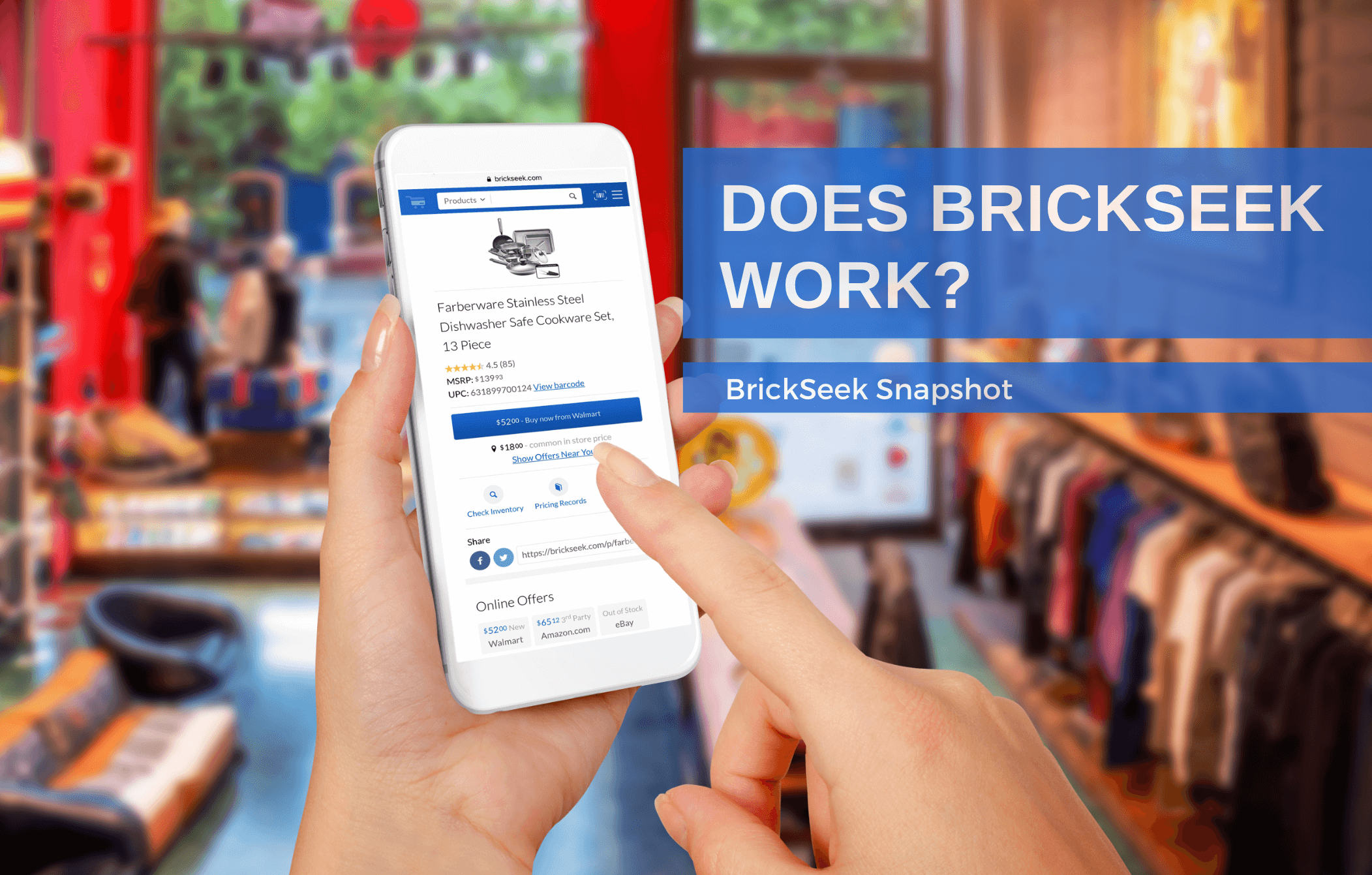 Does BrickSeek Work? –                      The BrickSeek Snapshot