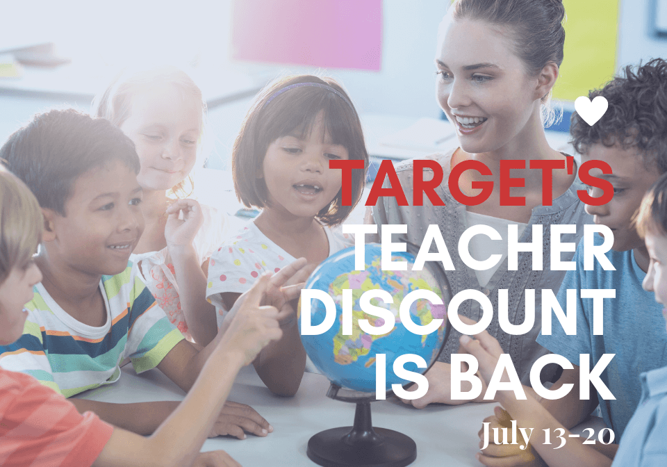 Target's Teacher Discount is Back!