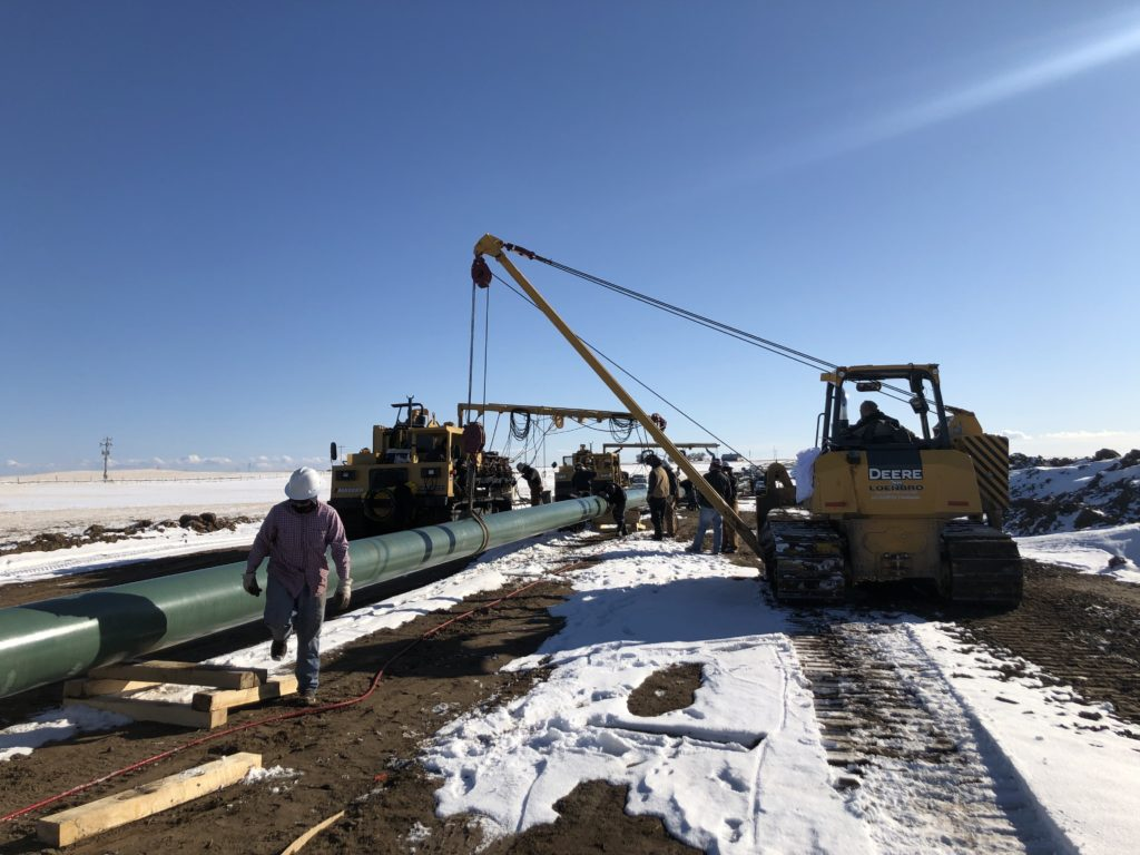Equality Pipeline Construction Update