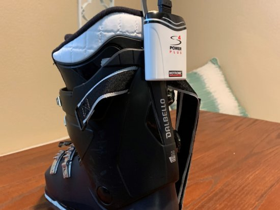 battery pack on boot