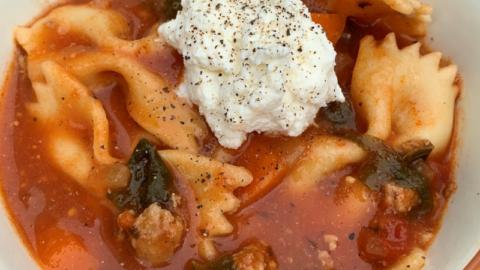 Instant Pot: Lasagna Soup