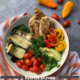 featured image grilled chicken veggie salad 3