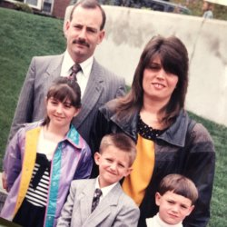 uncle joe and fam 80s