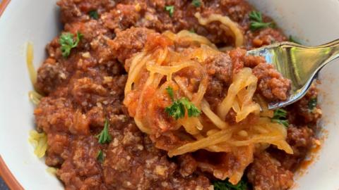 Instant Pot: Bolognese Sauce