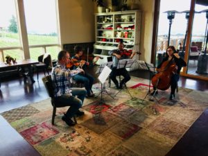 Music Sunday - Salem String Quartet @ Brooks Tasting Room | Amity | Oregon | United States