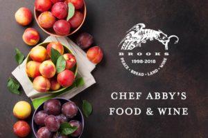 Stone Fruits and Wine Paring @ Brooks Winery | Amity | Oregon | United States