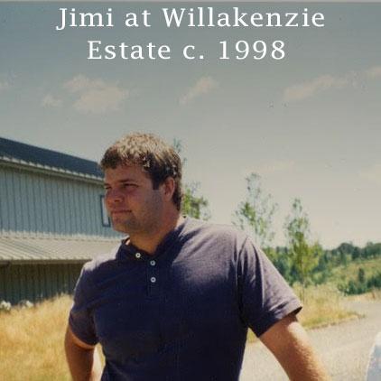Jimi Brooks at Willakenzie Estate