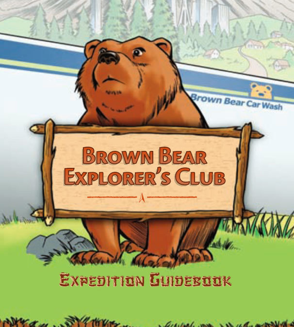 Brown Bear Explorer's Club logo