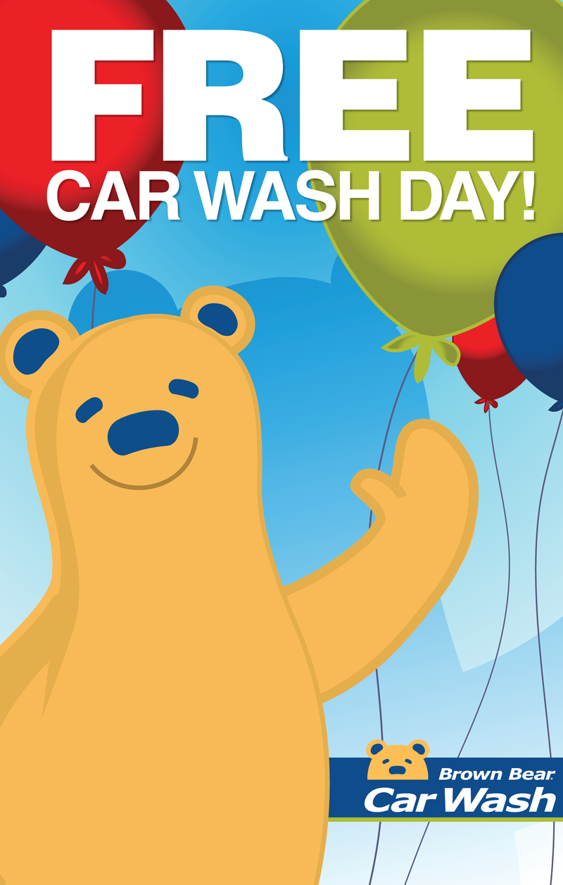 Free Car Wash Day logo
