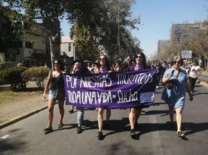 Fundación contra el Femicidio con Javiera en la memoria