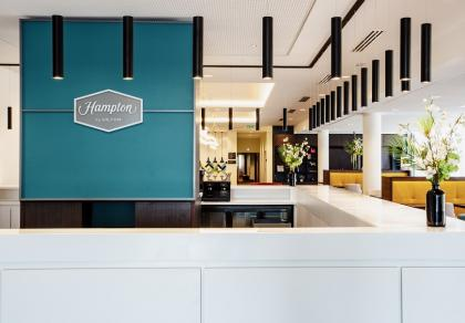 Reception at Hampton by Hilton Toulouse Airport