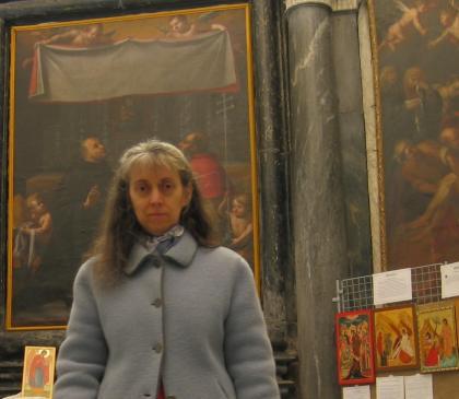 Icone Sacre, dipinte per mano di Cristina Capella ,a Varese.