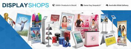 Slimline Warehouse Display Shops