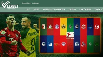 Veerbet.de Fussballwetten