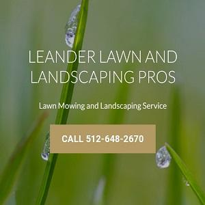 Leander Lawn and Landscaping Pros