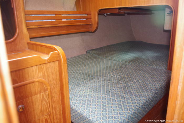 Double berth converted