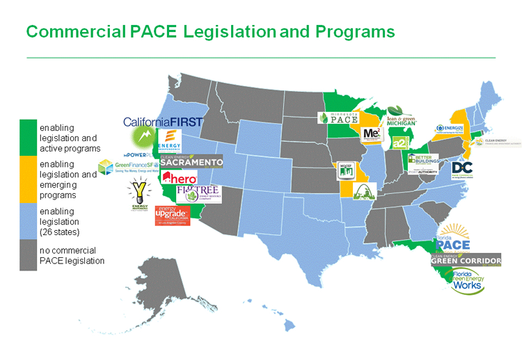 Commercial PACE Legislation & Programs