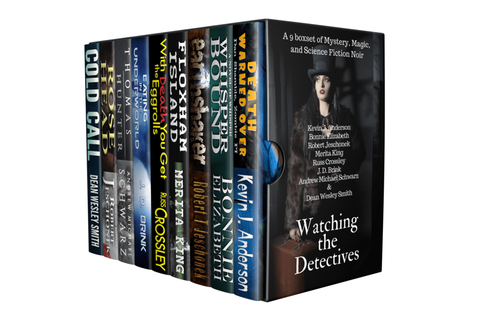 A 9 boxset of Mystery, Magic, and Science Fiction Noir