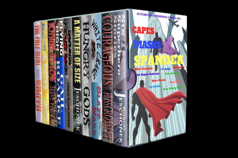 The Capes Masks Spandex Bundle