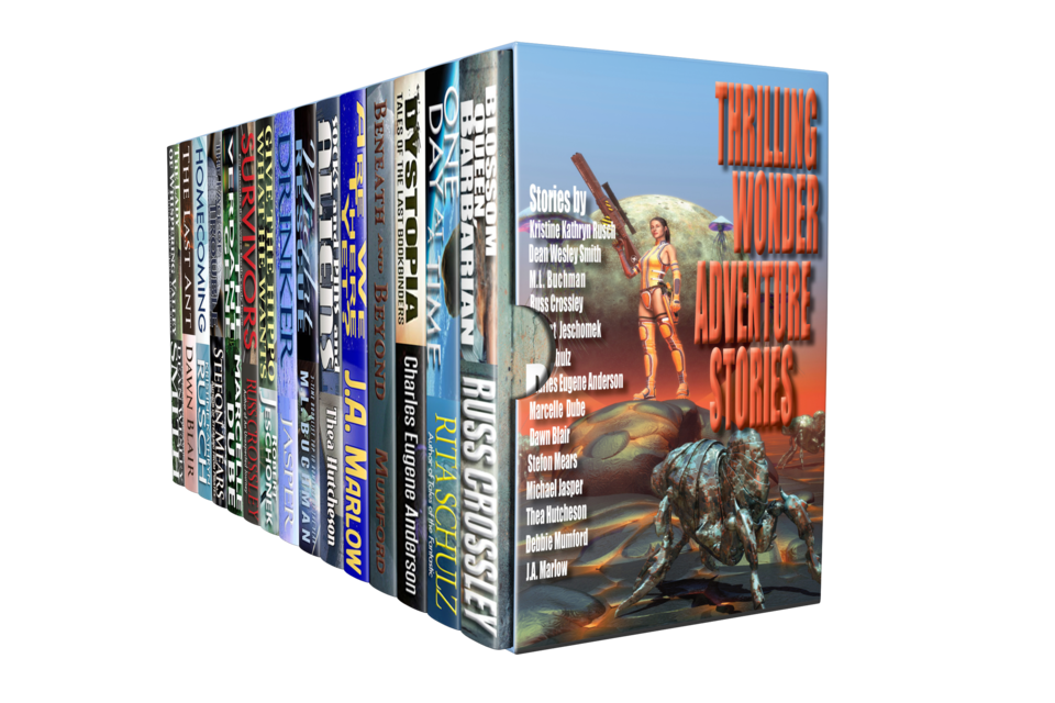 The Thrilling Wonder Adventure Stories Bundle