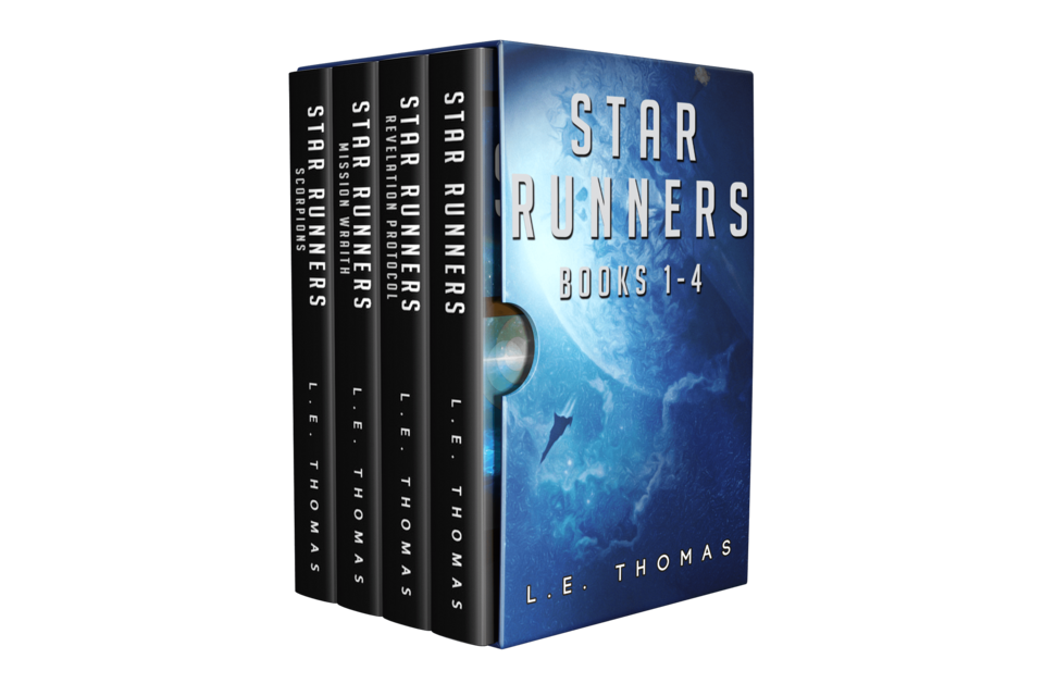 The Star Runners Universe (Books 1-4) Bundle