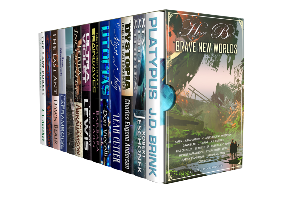 The Here Be Brave New Worlds Bundle
