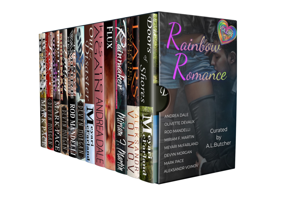 The Rainbow Romance Volume I Bundle