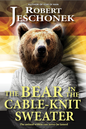 The Bear in the Cable-Knit Sweather
