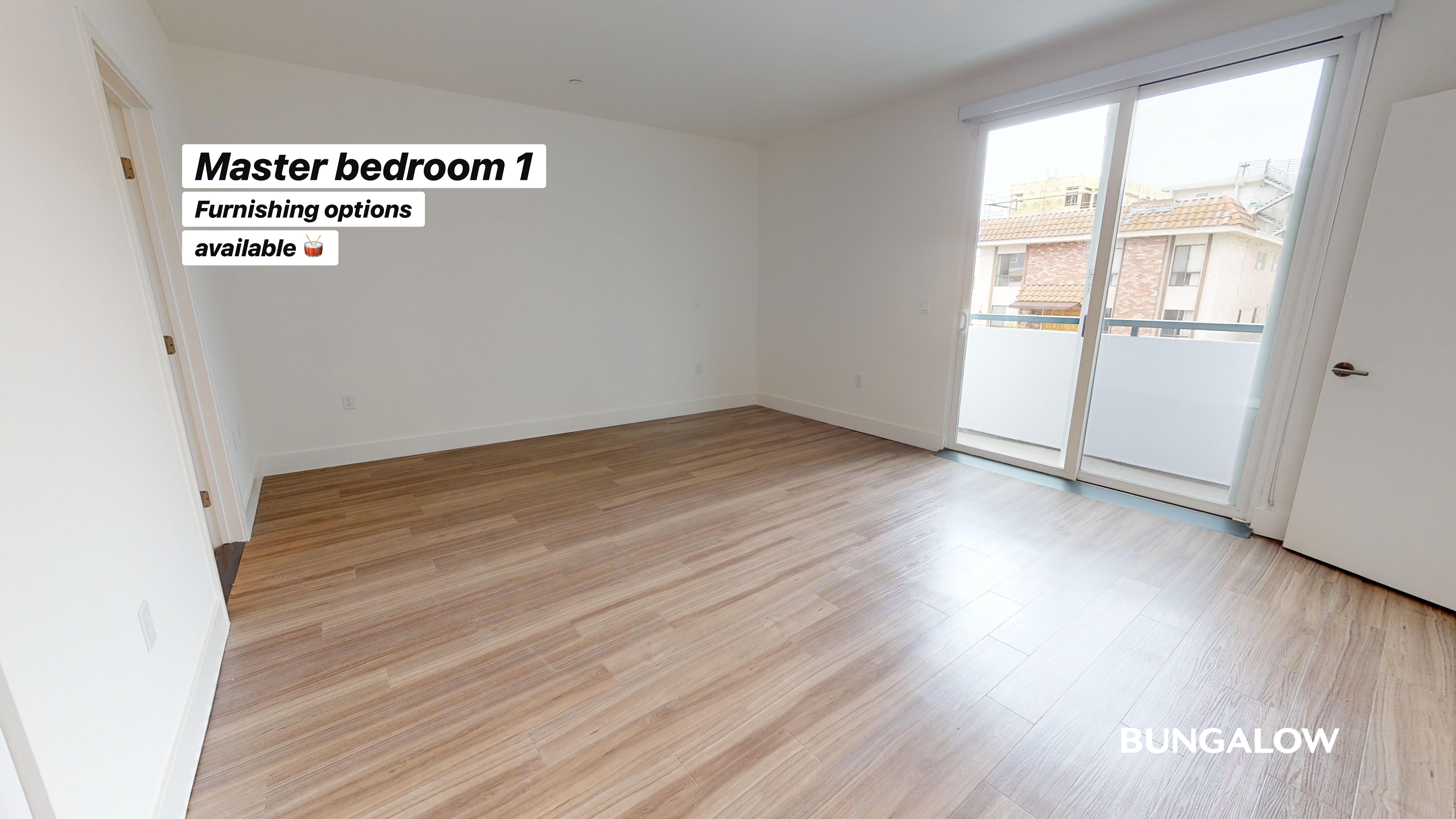 Private Bedroom in Stylish Apartment by Beverly Grove Center