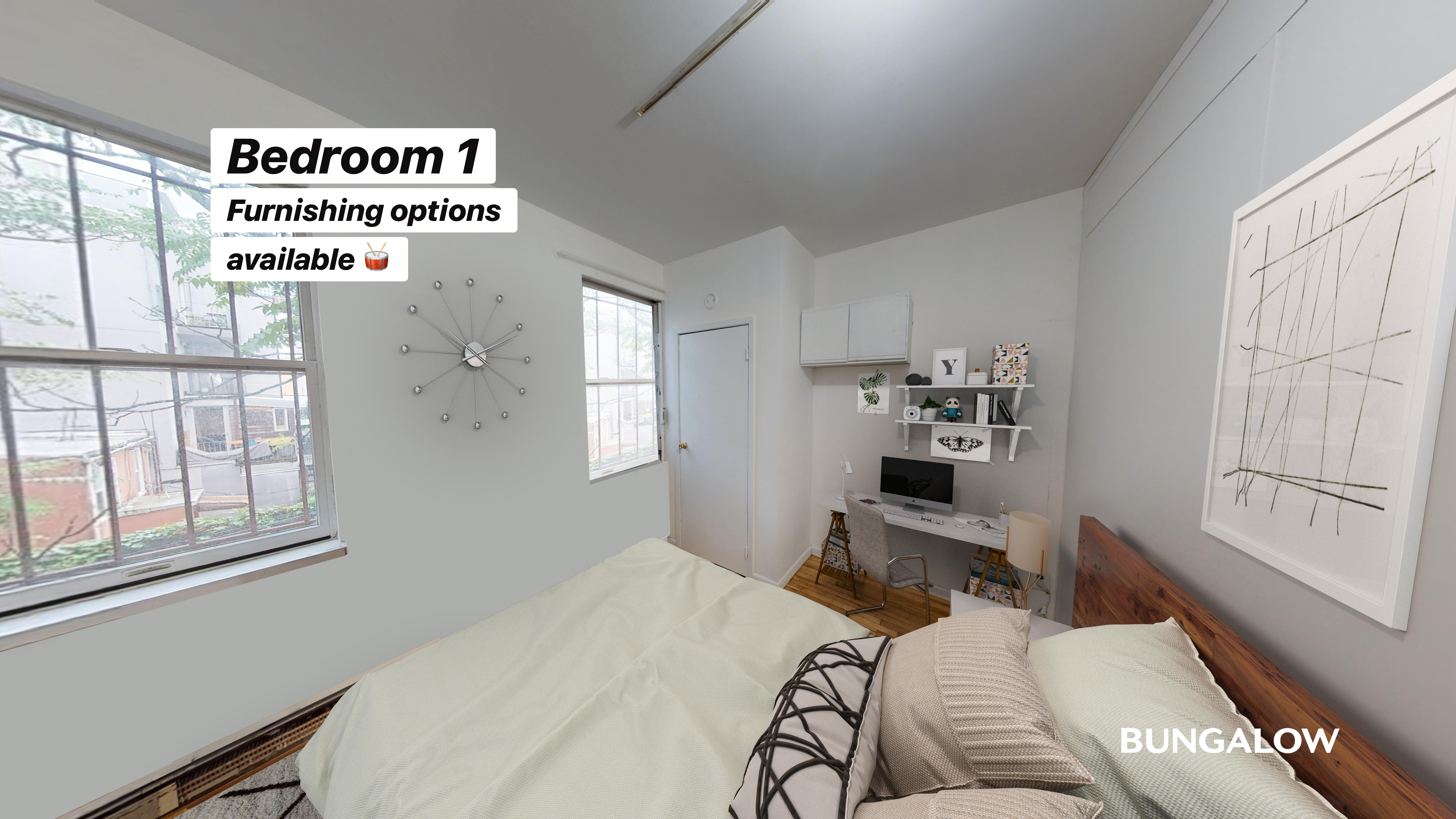 Private Room in Welcoming Williamsburg Apartment Near the L Line