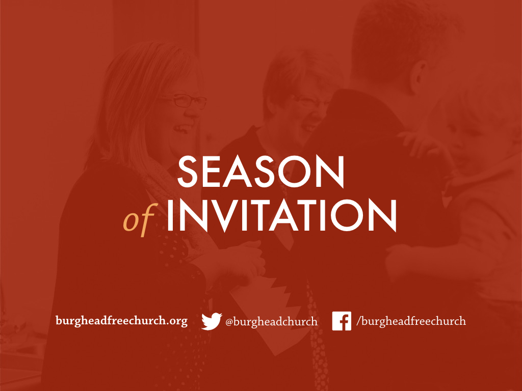 Season of Invitation: Who is Jesus?