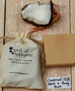 Coconut Milk Soap Burst Of Happyness 1