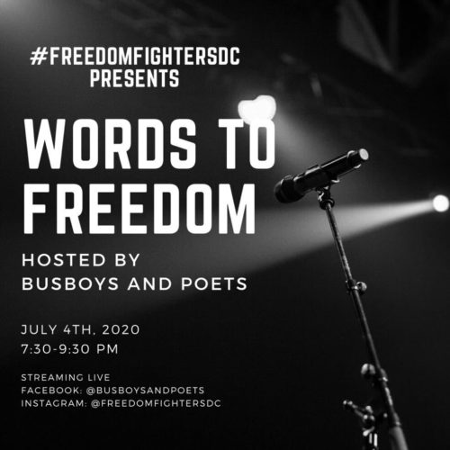Words to Freedom Presented by Freedom Fighters DC