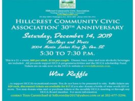 Hillcrest 30th Anniversary Flyer