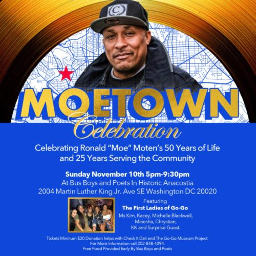 Moetown Celebration Featuring the First Ladies of GoGo