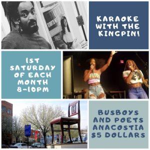Karaoke Night. Hosted by Dwayne B. 12.7.19