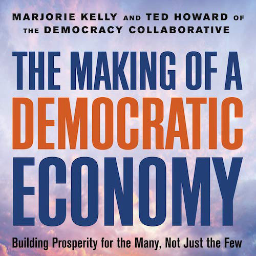 Book release: The Making of a Democratic Economy