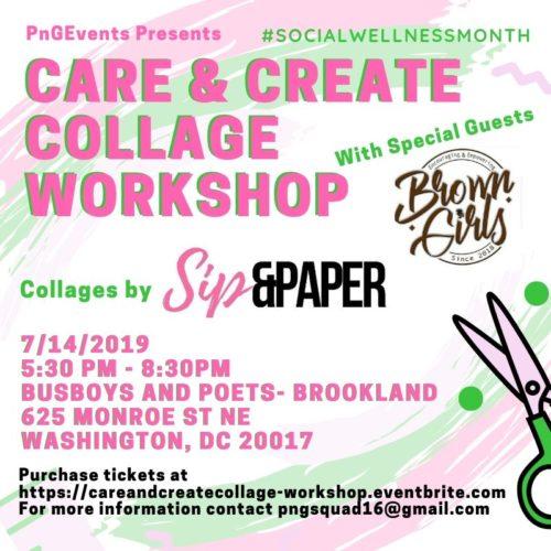 Care & Create Collage Workshop
