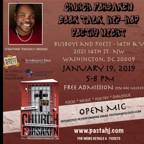 Book Talk/ Hip-hop Poetry Event