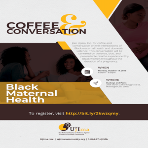 Coffee and Conversation: Black Maternal Health
