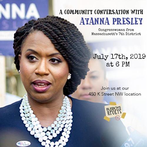 Community Conversation with Congresswoman Ayanna Pressley