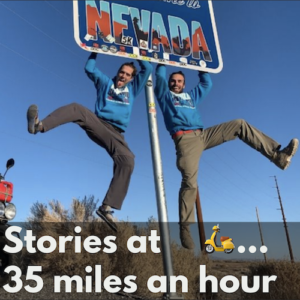 Stories at 35 Miles an Hour